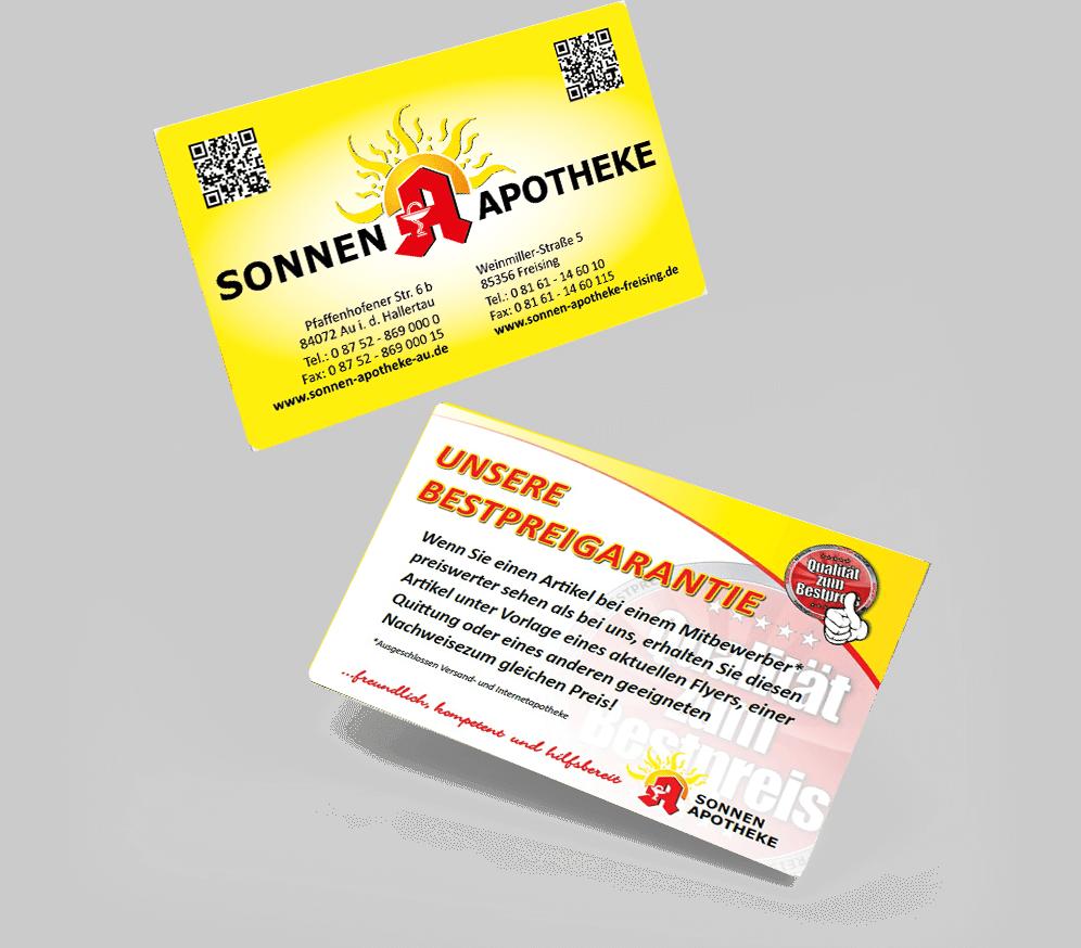 Kundenkarte Sonnen Apotheke Freising