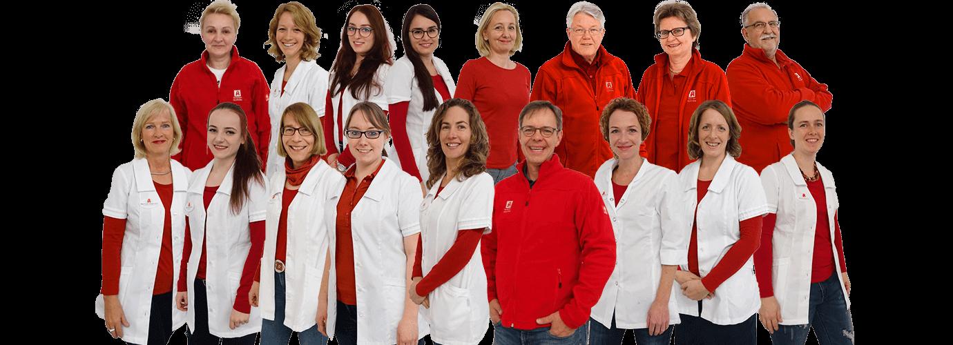 Team der Sonnen Apotheke in Freising